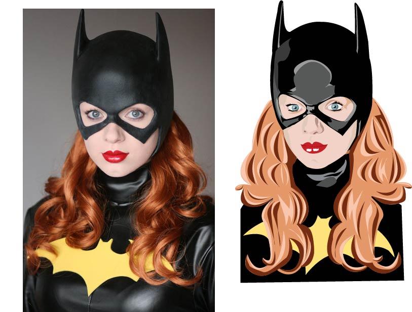 Batgirl :) by violencesummer
