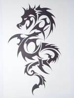 dragon tatoo by kenofchaos
