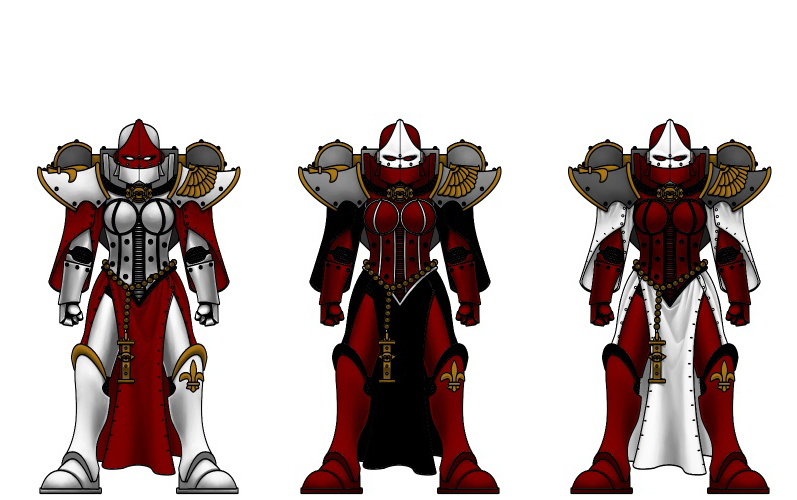 sister of battle colour test by kenofchaos on DeviantArt