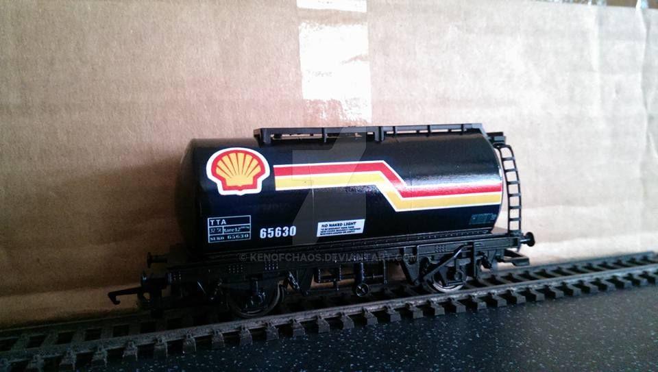 Hornby TTA tanker. by kenofchaos