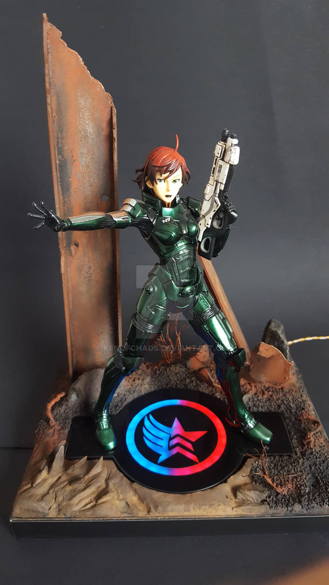 Commander Shepard figure resin kit