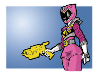 Power Rangers Dino Charge Shelby