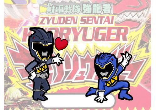 Kyoryu Black and Blue