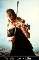 Wrath the violin by Mr-Hmod