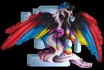 Flaming Rainbow by fluxittu