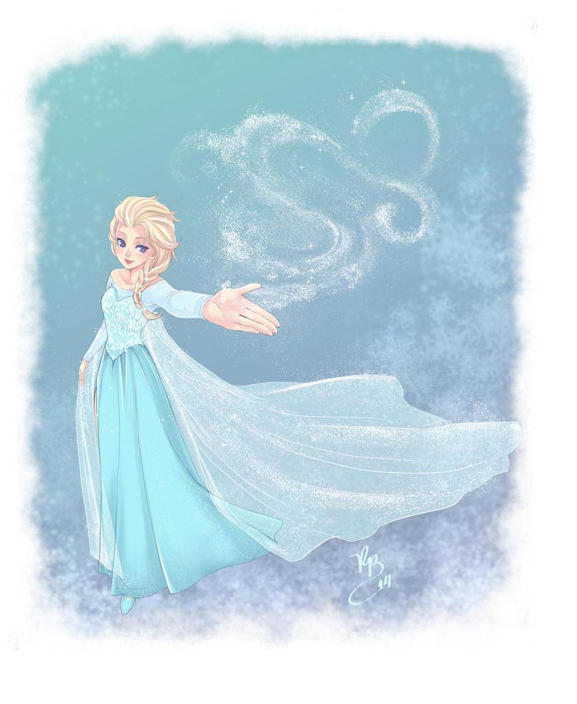Elsa - Frozen by lince
