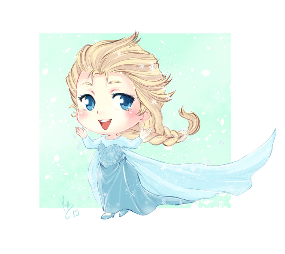 Chibi Elsa by lince