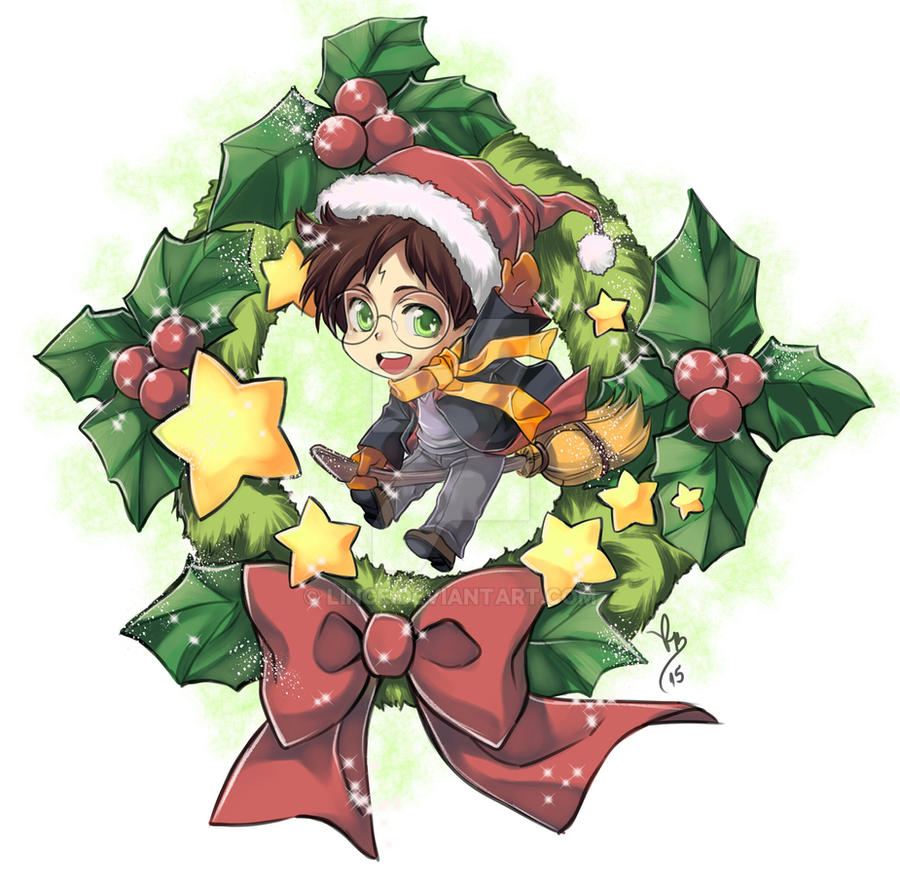 Merry Xmas 2015 HP by lince