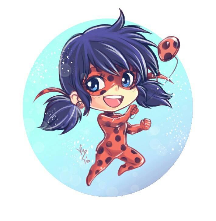 Chibi Miraculous Ladybug by lince