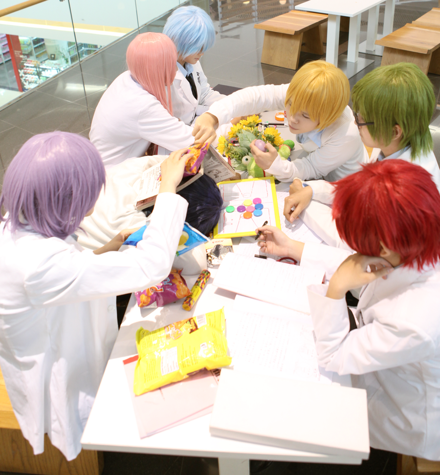 Kiseki no Sedai - Group meeting by PopoNyan
