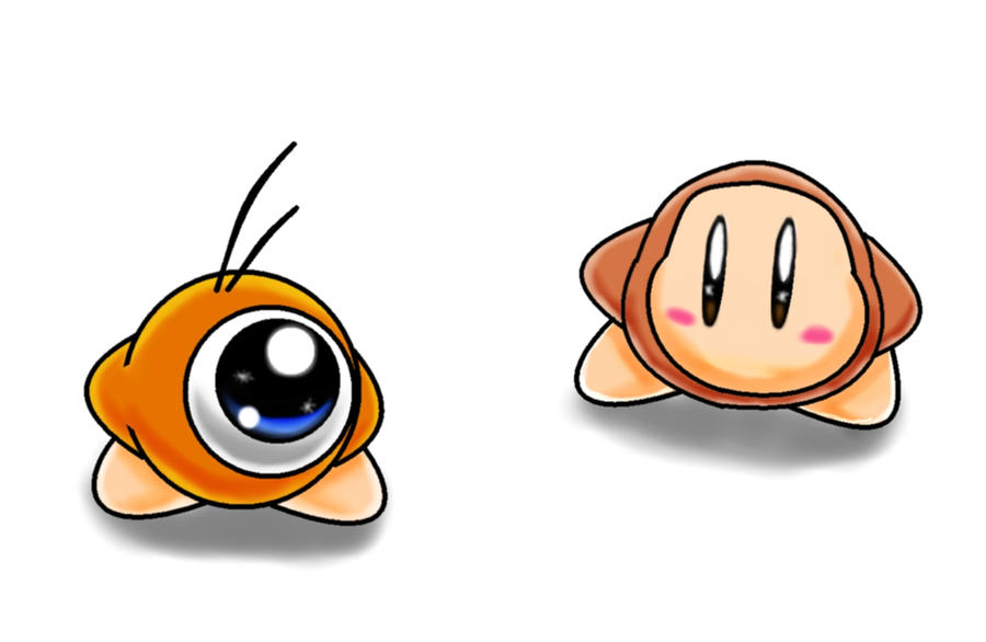 Waddle Dee and Waddle Doo by The-Super-Brawl-Girl on ... Waddle Dee And Waddle Doo
