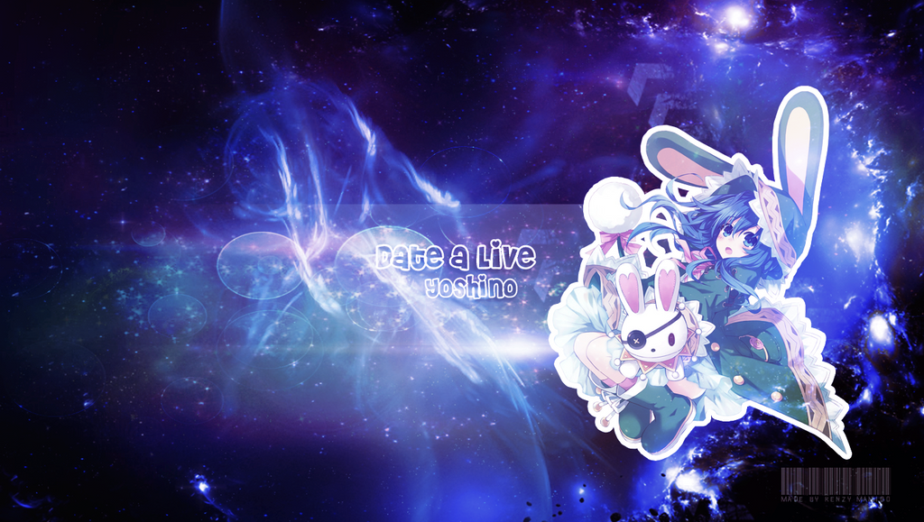 Yoshino Date A Live Wallpaper By RRenzy10