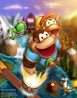 Donkey Kong Country 3 by MCsaad