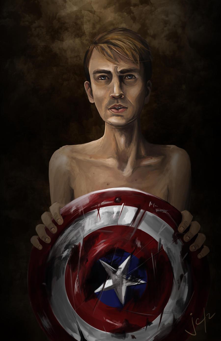 Steve Rogers, aka Captain America
