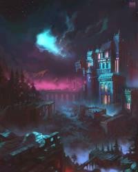 Dark Fortress II by DerekRestivo