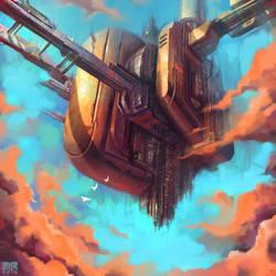Sky Monolith II