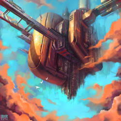 Sky Monolith II by DerekRestivo