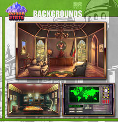 Rogue State - Backgrounds
