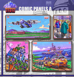 Rogue State - Comic Panels A