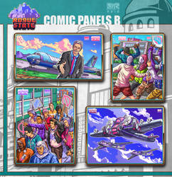 Rogue State - Comic Panels B