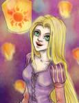 Rapunzel Glow