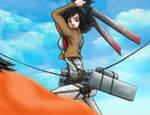 Mikasa Attack On Titans