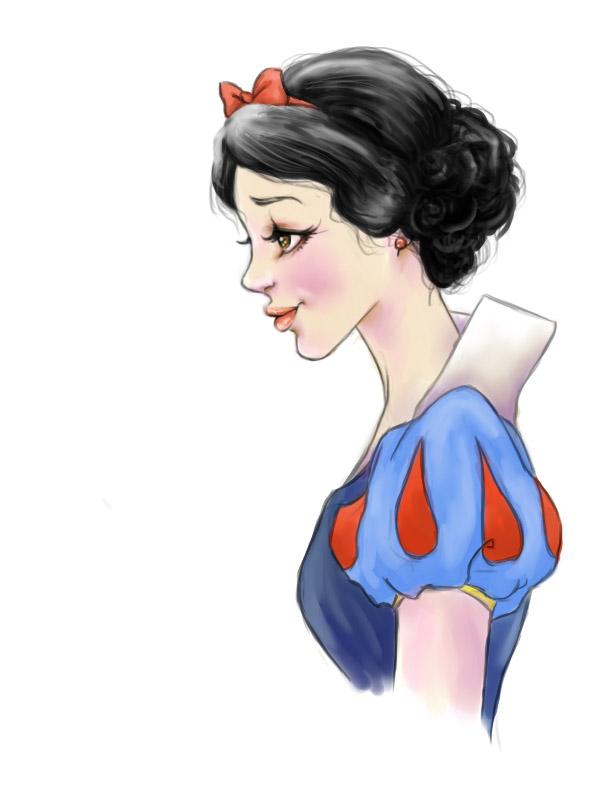 Snow White by Pengarooah