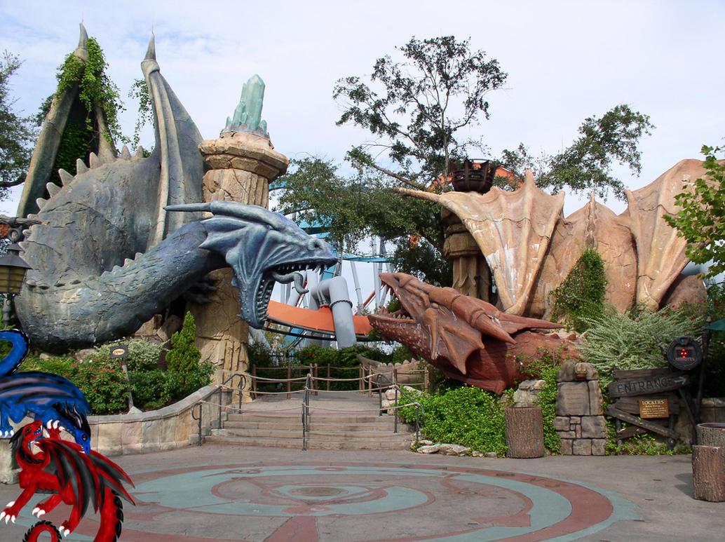Dueling Dragons Universal S Islands Of Adventure