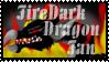 firedarkdragon Fan Stamp -1- by CrystalJoy-Creations