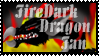 firedarkdragon Fan Stamp -1- by Dragon-Lady