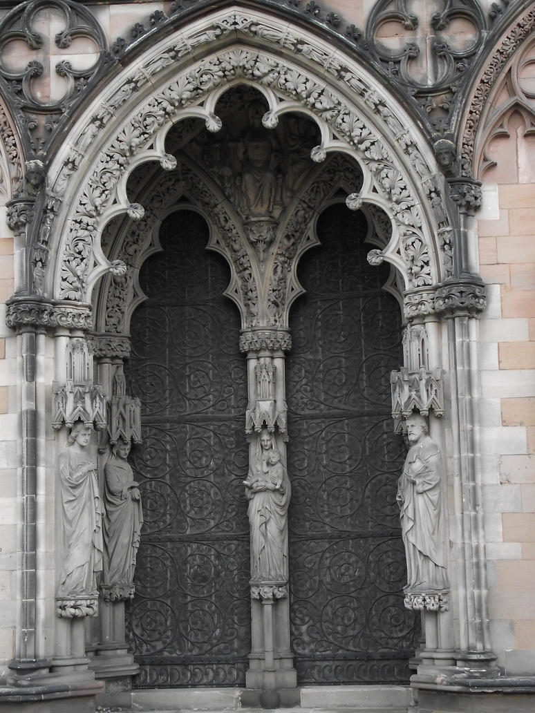 Gothic Door 2 By Puppyo0o On DeviantArt