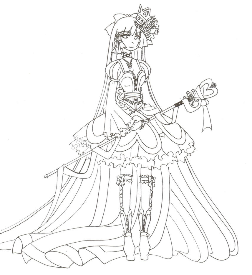 WIP Queen Of Hearts By Madhatterkyoko On DeviantArt