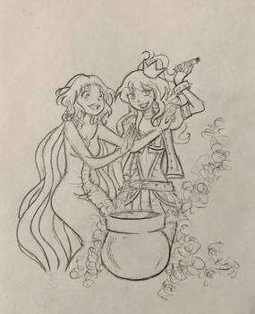 Sayuri and Cwningen