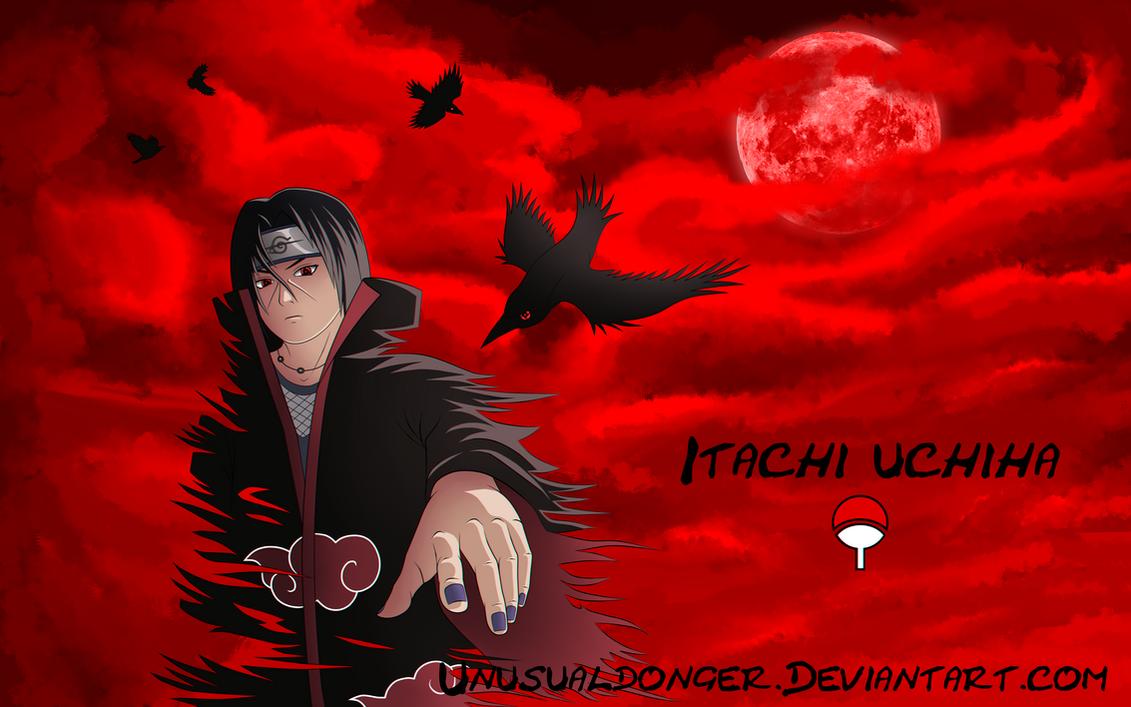 Itachi Uchiha Wallpaper By UnusualDonger