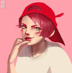 Casual Xayah by pa-do