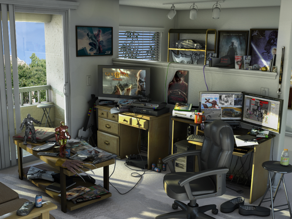 my living room 3d by rubenvoorhees1. my living room 3d by rubenvoorhees1 on DeviantArt