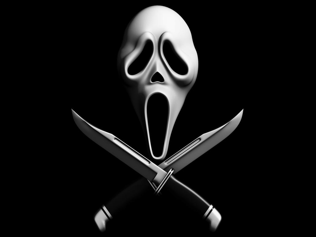 3d scream mask high res1 by rubenvoorhees1Scary Movie 1 Scream Wazzup