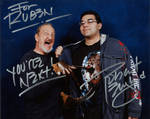 robert englund and me at weekend of horrors