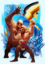 SONGKRAN FESTIVAL BEAR POOLxPARTY by chai0sx