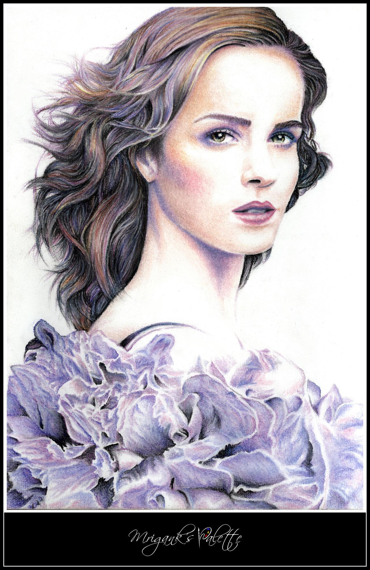 Emma Watson by mrigank