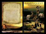 Ravenquest: The Scroll and the Key book cover by mandys-creations
