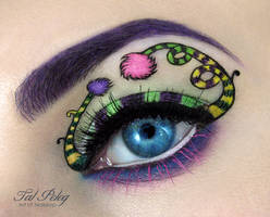 Dr. Seuss makeup look! by scarlet-moon1
