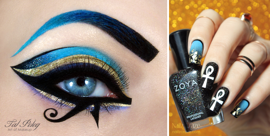 Katy Perry Dark Horse inspired makeup and nail-art by scarlet-moon1 ...