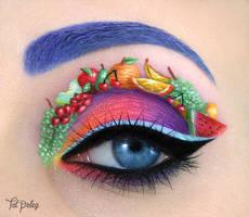 Fruity eye by scarlet-moon1