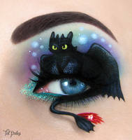 Toothless by scarlet-moon1