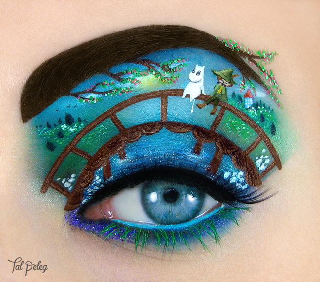 Eye Shadow Art, Tal Peleg, Makeup Artistry, Eyes, Eyeshadow