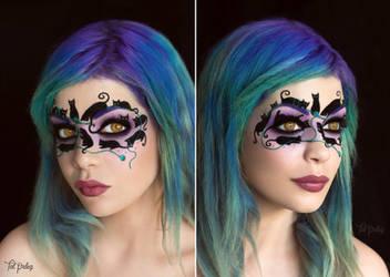 Feline Masquerade by scarlet-moon1