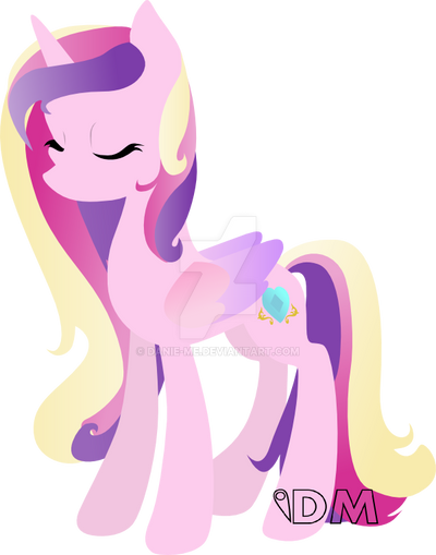 Princess Cadance by Danie-me