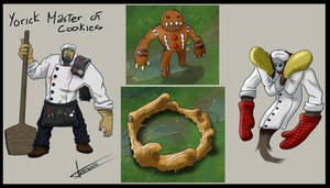 Yorick Master of Cookies