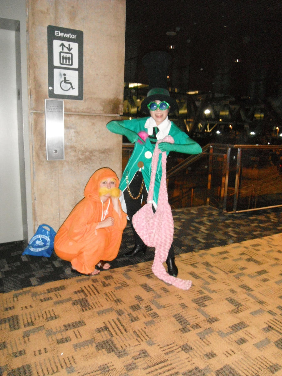 ... Otakon 2012 - The Lorax and The Once-ler by Cosplay-Pics-Account